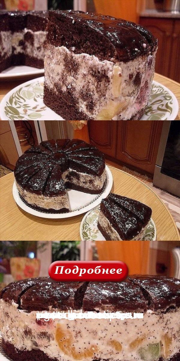 Восхитительный торт «Африканская ромашка»