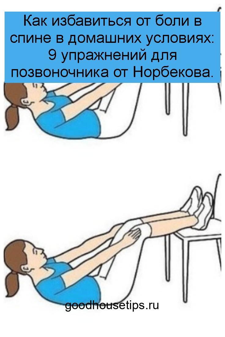 Как избавиться от боли в спине в домашних условиях: 9 упражнений для позвоночника от Норбекова 4
