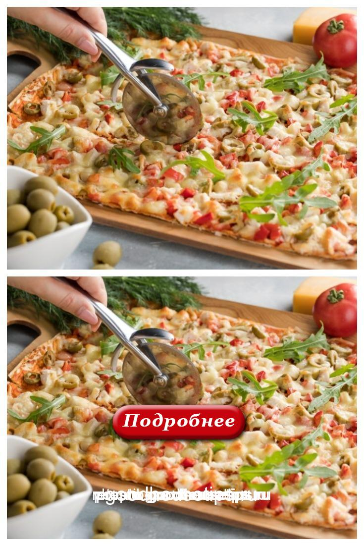 Быстрая и вкусная эконом-пицца на лаваше