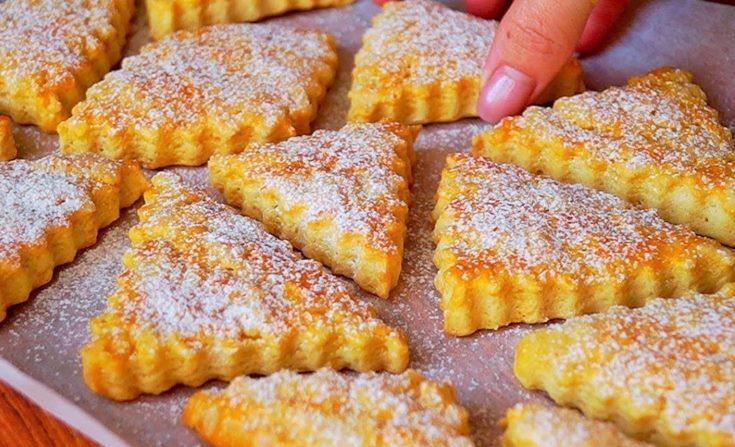 Рецепт нежного и очень вкусного печенья за 10 минут + выпечка 1