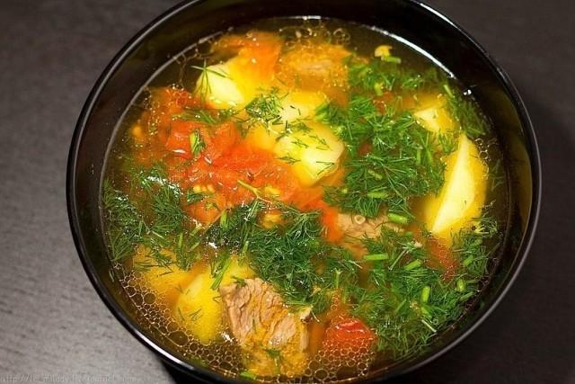 Самый любимый суп моей семьи! Суп Бозбаш (узбекская кухня)