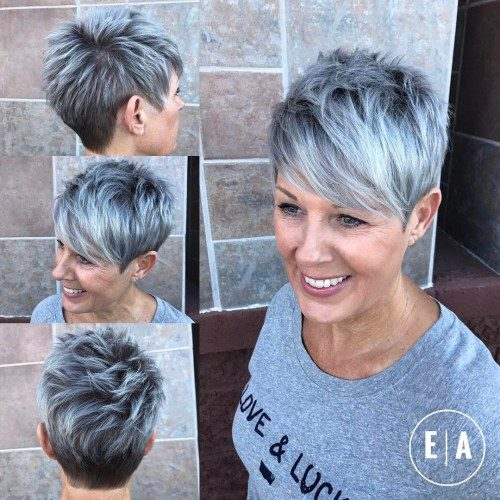 5-spiky-gray-balayage-pixie-for-women-over-50-1
